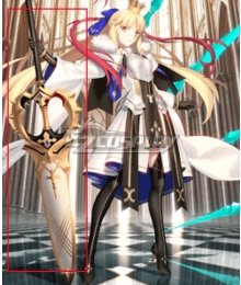 Fate Grand Order FGO Caster Artoria Pendragon Stage 3 Cosplay Weapon Prop