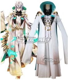 Fate Grand Order FGO Caster Asclepius Cosplay Costume