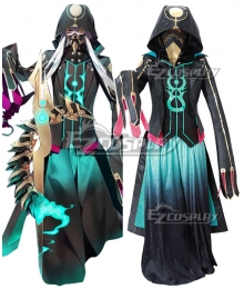 Fate Grand Order FGO Caster Asclepius Cosplay Costume - B Edition