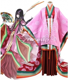 Fate Grand Order FGO Caster Murasaki Shikibu Stage 3 Cosplay Costume