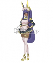 Fate Grand Order FGO Caster Nitocris Maid Cosplay Costume
