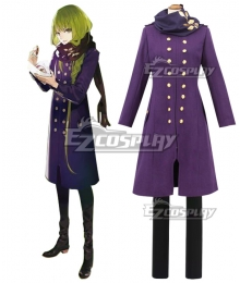 Fate Grand Order FGO Enkidu Winter Uniform Cosplay Costume