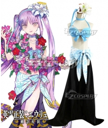 Fate Grand Order FGO Euryale Swimsuit Cosplay Costume