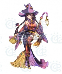 Fate Grand Order FGO FES 2019: Chaldea Park Assassin Osakabehime Halloween Cosplay Costume