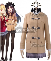 Fate Grand Order FGO Ishtar Daily Winter Uniform Cosplay Costume