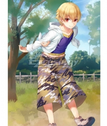 Fate Grand Order FGO Kid Gil Cosplay Costume