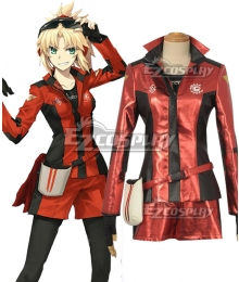 Fate Grand Order FGO  Mordred Racing Suit Cosplay Costume