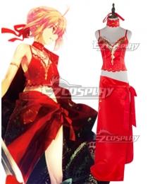 Fate Grand Order FGO Saber Caster Nero Claudius Colosseum Cosplay Costume