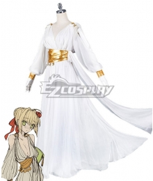 Fate Grand Order FGO Saber Caster Nero Claudius Nightdress Cosplay Costume
