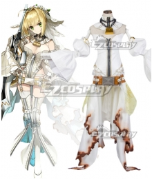 Fate Grand Order FGO Saber Caster Nero Claudius Wedding Dress Stage 2 Cosplay Costume