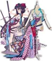 Fate Grand Order FGO Saber Hokusai Cosplay Costume