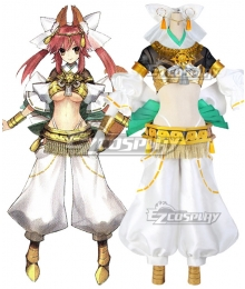 Fate Grand Order FGO Tamamo No Mae Cosplay Costume