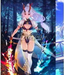 Fate Grand Order FGO Tomoe Gozen Swimsuit Stage 3 Cosplay Costume