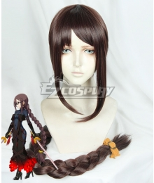Fate Grand Order FGO Yu Miaoyi Brown Cosplay Wig