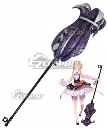 Fate Grand Order Foreigner Abigail Williams Formal Craft Broom Cosplay Weapon Prop