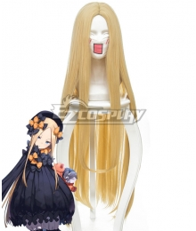 Fate Grand Order Foreigner Abigail Williams Yellow Cosplay Wig 235S