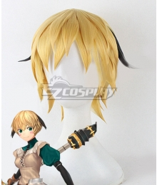 Fate Grand Order Gareth Golden Brown Cosplay Wig