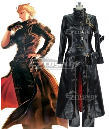 Fate Grand Order Gilgamesh Cosplay Costume - Artificial Leather