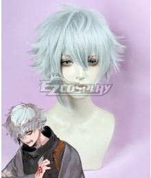 Fate Grand Order Kadoc Zemlupus Silver Cosplay Wig