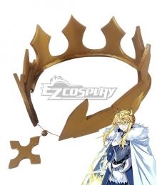Fate Grand Order Lancer Artoria Sprite Saber Artoria Pendragon Crown Cosplay Accessory Prop