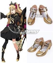 Fate Grand Order Lancer Ereshkigal Golden Cosplay Shoes