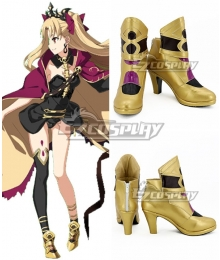 Fate Grand Order Lancer Ereshkigal Sprite1 Golden Cosplay Shoes