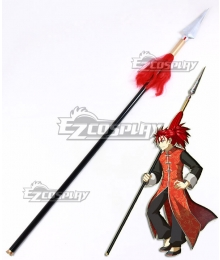 Fate Grand Order Lancer Li Shuwen Spear Cosplay Weapon Prop