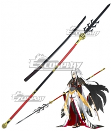 Fate Grand Order Lancer Nagao Kagetora Sword and Spear Cosplay Weapon Prop