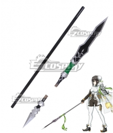 Fate Grand Order Lancer Qin Liangyu Spear Cosplay Weapon Prop