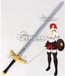 Fate Grand Order Rider Boudica Sword Cosplay Weapon Prop