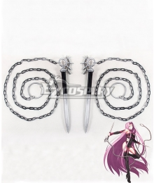Fate Grand Order Rider Medusa Two Daggers Cosplay Weapon Prop