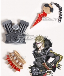 Fate Grand Order Rider Sakata Kintoki Key Waist Decoration Hand Guards Cosplay Accessory Prop