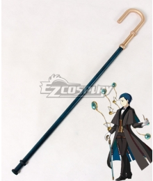 Fate Grand Order Ruler Sherlock Holmes Crutch Cosplay Weapon Prop