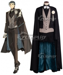 Fate Grand Order Ruler Sherlock Holmes Crutch Symphony Concert Cosplay Costume