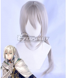Fate Grand Order Saber Bedivere White Cosplay Wig