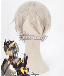 Fate Grand Order Saber Lanling Wang Gao Changgong White Cosplay Wig