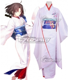 Fate Grand Order Saber The Garden of Sinners Shiki Ryougi Cosplay Costume