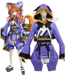 Fate Grand Order The Faithful Dog Who Waits Tamamo no Mae Cosplay Costume