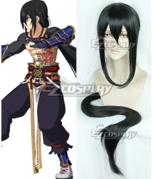 Fate Grand Order Yan Qing Black Cosplay Wig
