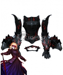 Fate Stay Night FGO Black Saber Artoria Pendragon Armor Cosplay Costume