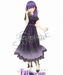 Fate Stay Night: Heaven's Feel Sakura Matou Cosplay Costume