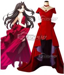 Fate Stay Night Rin Tohsaka 15th Celebration Cosplay Costume
