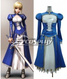 Fate Zero Saber Cosplay Costume Normal Version