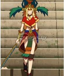 Fate/Grand Order - Absolute Demonic Front: Babylonia Quetzalcoatl Cosplay Costume