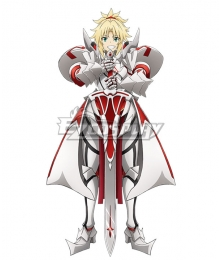 Fate/Grand Order: Shinsei Entaku Ryouiki Camelot 1 - Wandering; Agateram Saber Mordred Cosplay Costume