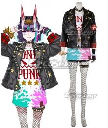 Fate/Grand Order FGO Waltz in the MOONLIGHT/LOSTROOM Mash Shuten Douji Cosplay Costume