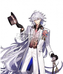 Fate/Grand Prix Order In Takarazuka FGO Kinen Caster Merlin Cosplay Costume