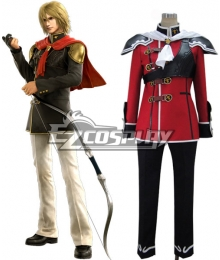 Final Fantasy Type0 Trey Formal Uniform Cosplay Costume