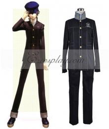 Persona 4 Yu Narukami Cosplay Costume
