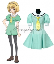 Higurashi When They Cry Satoko Hojo Cosplay Costume